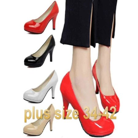Plus size Women's High Heel Office Shoes Pointed Toe Business Shoes Sexy Pumps