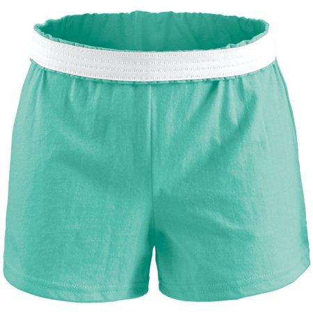 Soffe Juniors' Cheer Shorts (Pool Blue, (Soffe Drawstring Shorts)