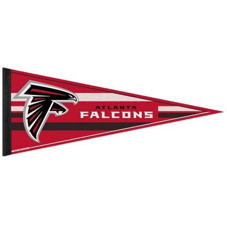 30 Felt Pennants - Atlanta Falcons Official NFL 12 inch x 30 inch  Felt Pennant by Wincraft