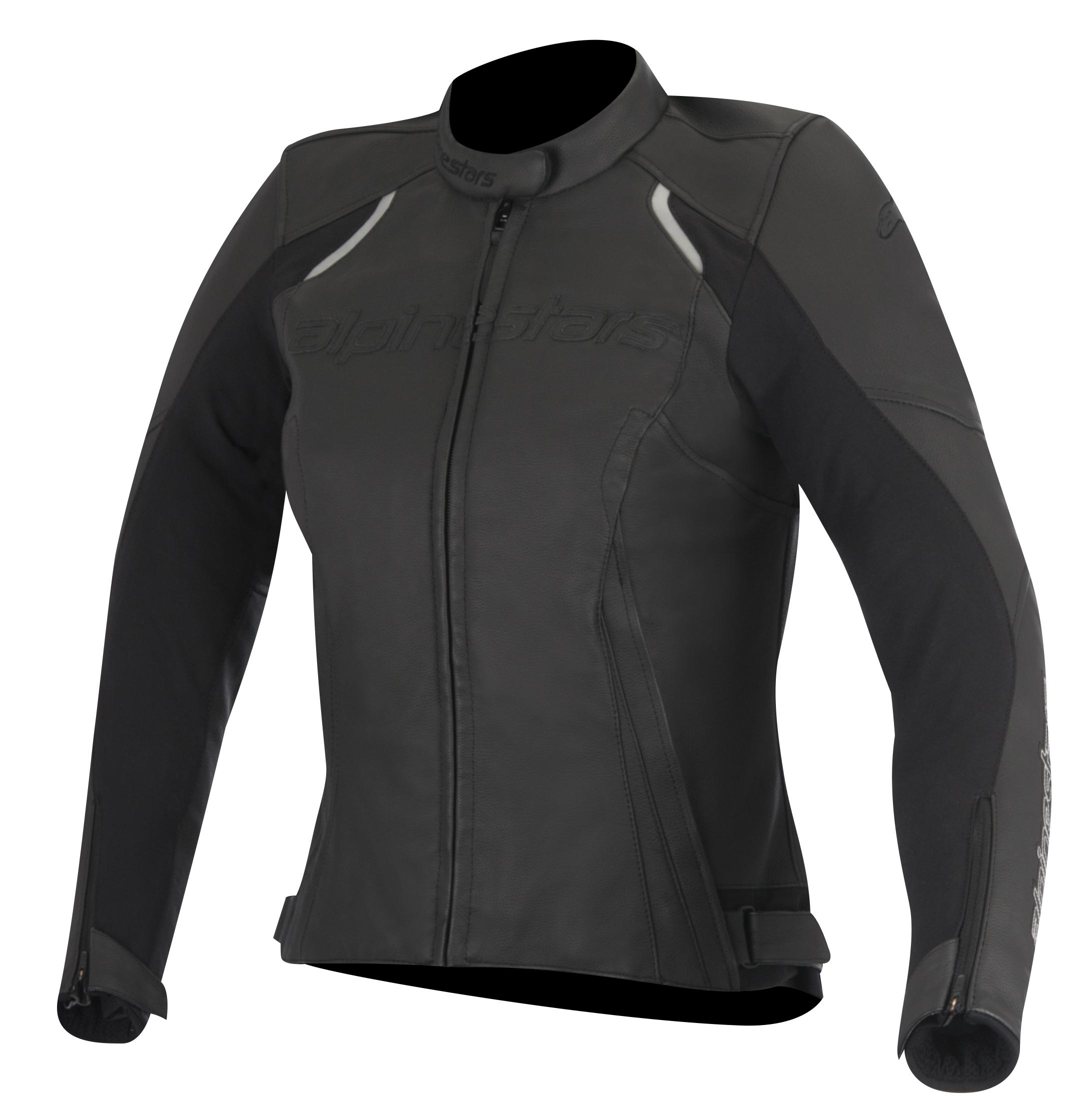 Alpine stars Stella Devon Womens Leather Jacket Black