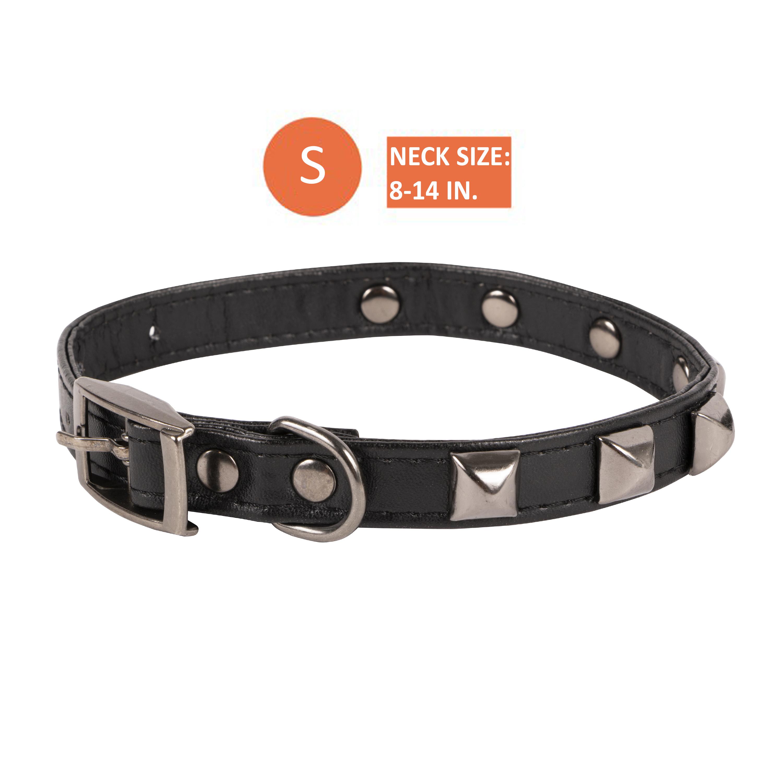 SimplyDog Studded Collar Medium Brown