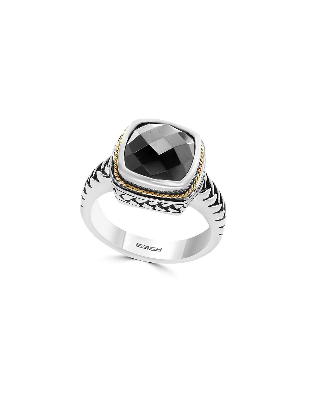 Gemstone and Sterling Silver Ring