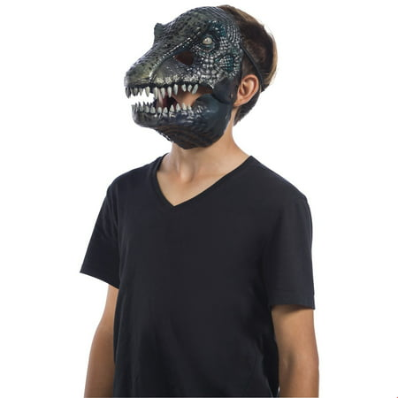 Jurassic World: Fallen Kingdom Baryonyx Movable Jaw Adult Mask Halloween Costume Accessory](Fallen Angel Halloween Costume)