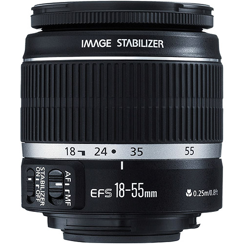 Canon EF-S 18-55mm f/3.5-5.6 IS Zoom Lens (2042B002)