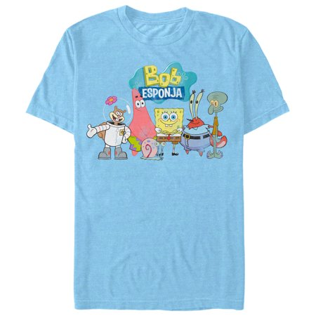 SpongeBob SquarePants Men's Character Group T-Shirt](Spongebob Squarepants Adult)