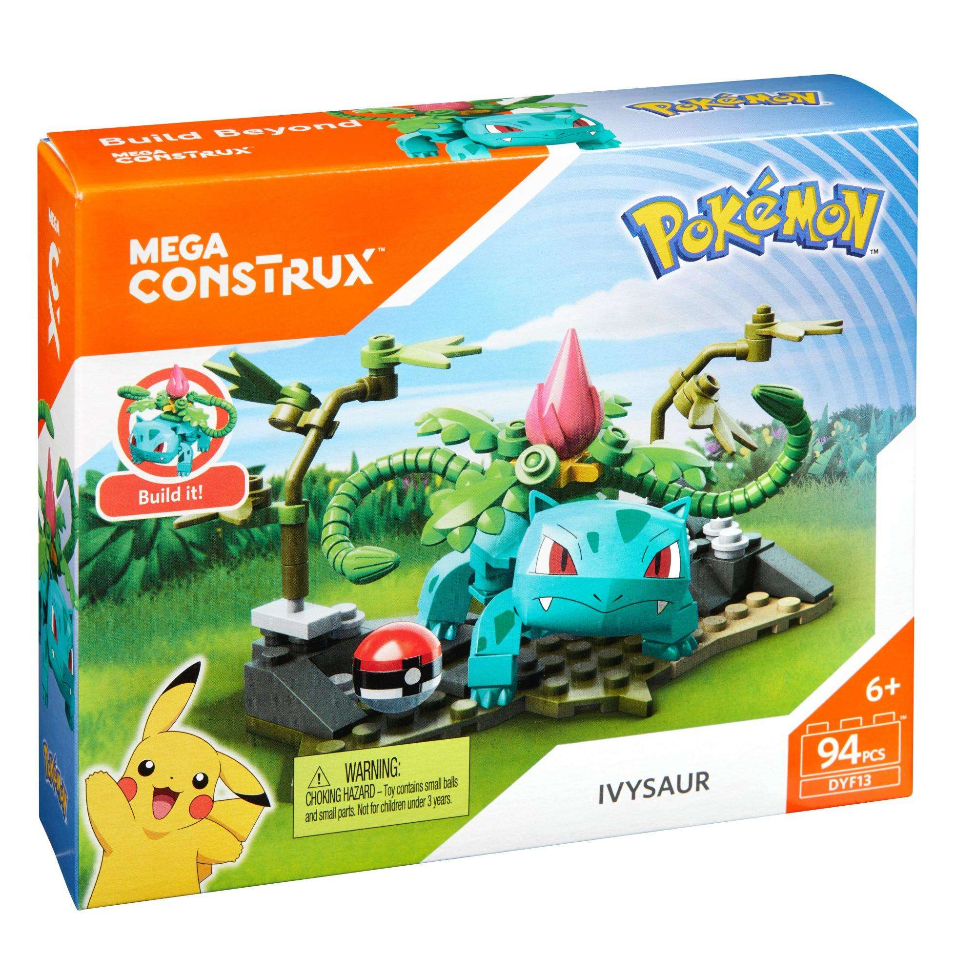 Pokemon Ivysaur Building Set Mega Construx