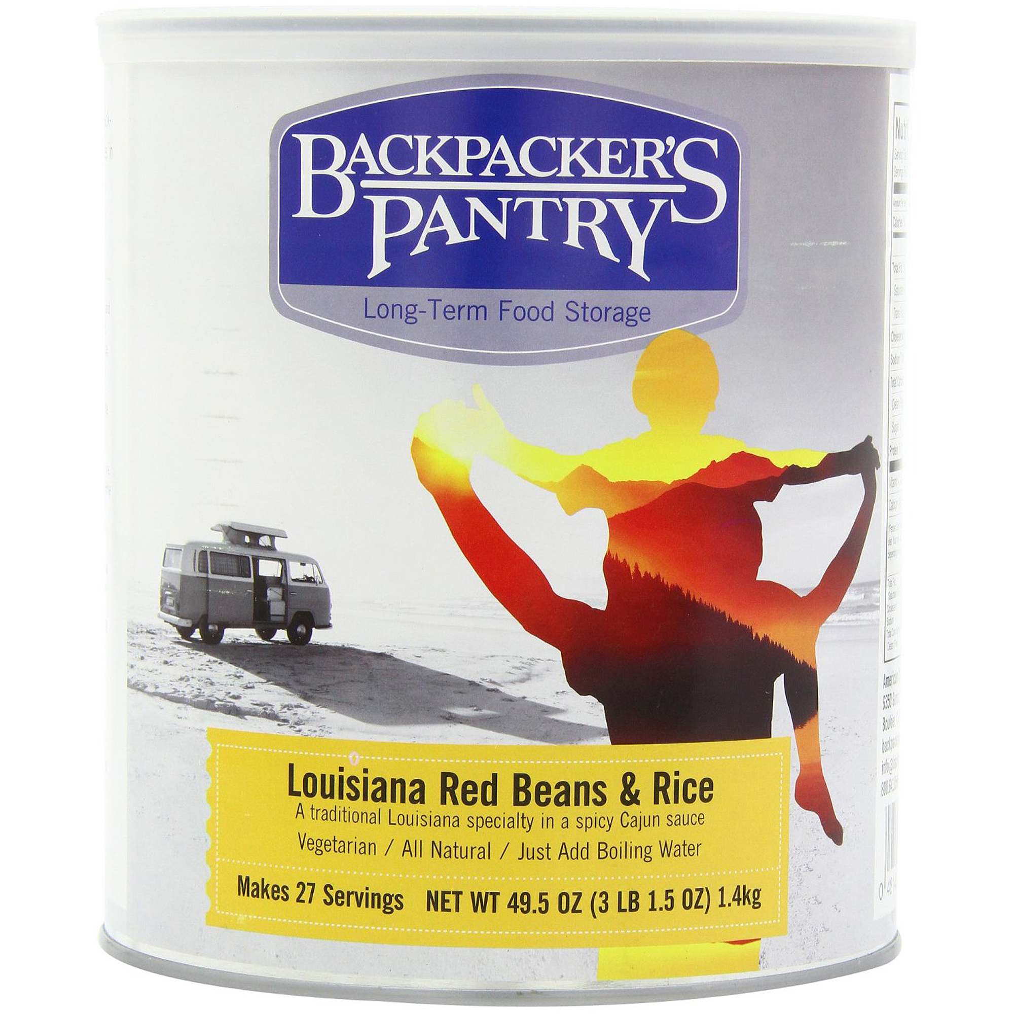 Backpacker's Pantry Louisiana Red Beans & Rice Can by Backpackers Pantry