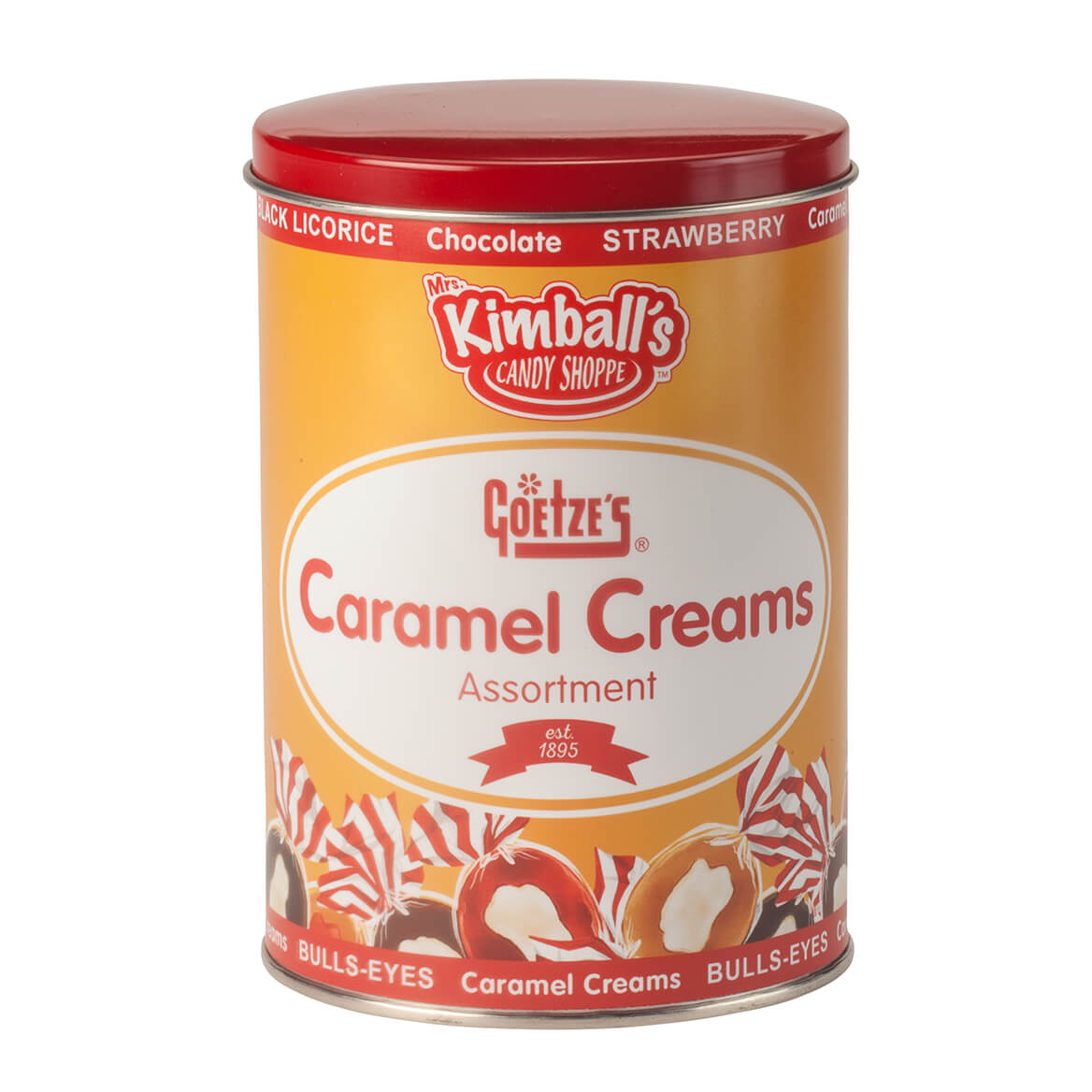 Goetze's Caramel Creams Tin by Mrs. Kimball's Candy ShoppeTM