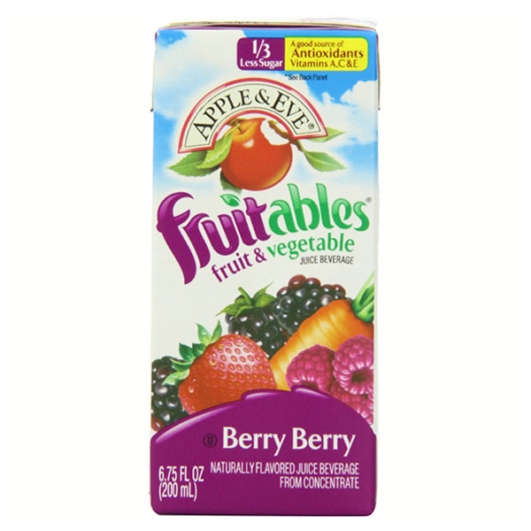 Apple & Eve Fruitables Berry Berry Fruits & Vegetables 6....