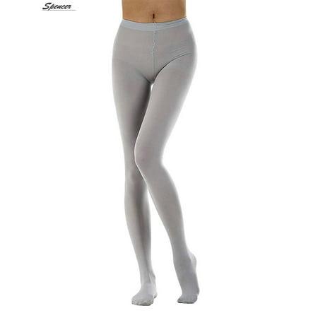 Spencer Women's Run Resistant Control Top Pantyhose Stretchy Hosiery Full Leg Stockings