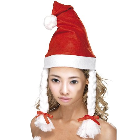 Flying Outlets Adult Christmas Party Fancy Dress Claus Costume Headwear Santa Hat with - Outlet Costumes