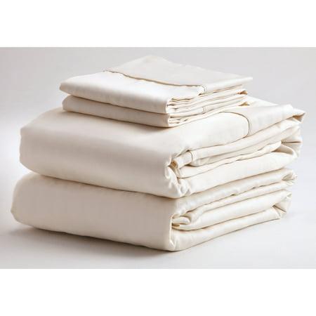 denver mattress 343533 adjustable sheet set king ivory. Black Bedroom Furniture Sets. Home Design Ideas