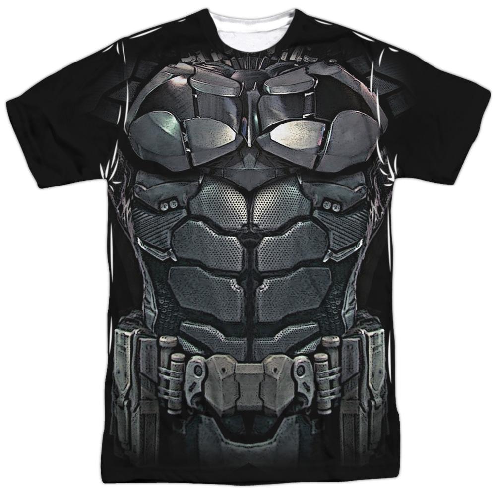Batman Arkham Knight Uniform (Front Back Print) Mens Sublimation Shirt by Trevco