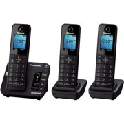 Panasonic KX-TGE263B Link2Cell Bluetooth Cellular Convergence Solution with 3 Handsets