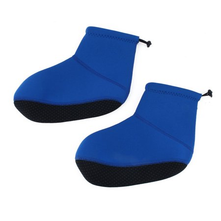 Swim Surfing Neoprene Diving Socks Sand Volleyball Swimming Shoes Booties Blue M - image 4 de 4