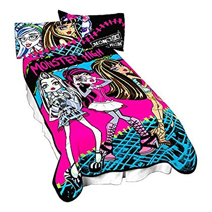 Best Ghouls Twin Bedding Throw 1, Monster High Bedding Twin