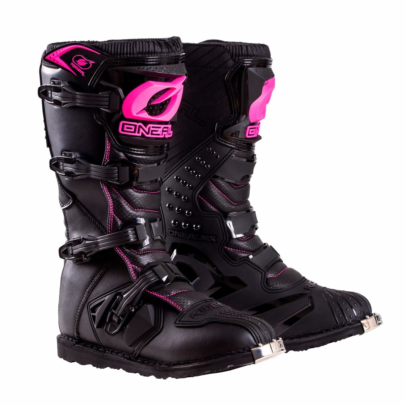 Oneal 2019 Womens Rider Offroad Motocross Boots Black - Pink/Black - 0325