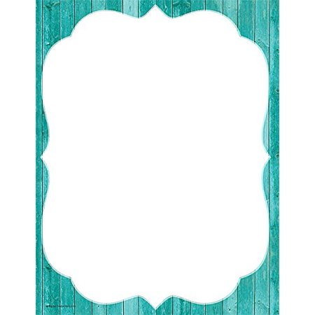 Shabby Chic Computer Paper (77173), 50 sheets per pack. By Teacher Created (Chic Computer Paper)