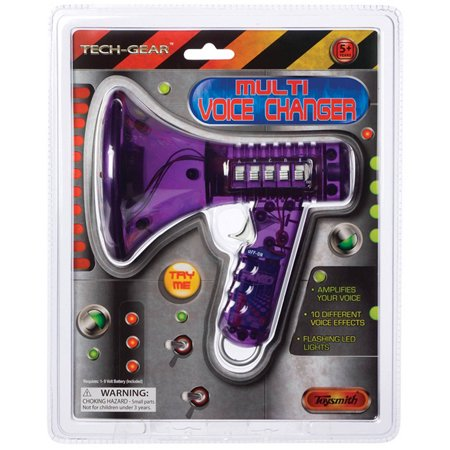 Toysmith Multi Voice Changer (Colors may vary) (Best Skype Voice Changer)