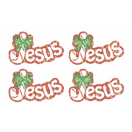 Jesus (Legend of the Candy Cane) Dazzle™ Stickers - Legend Of Candy Cane