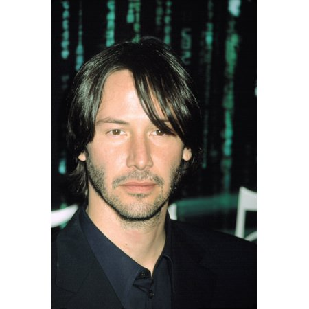 Keanu Reeves At Premiere Of The Matrix Reloaded Ny 5132003 By Cj Contino Photo Print