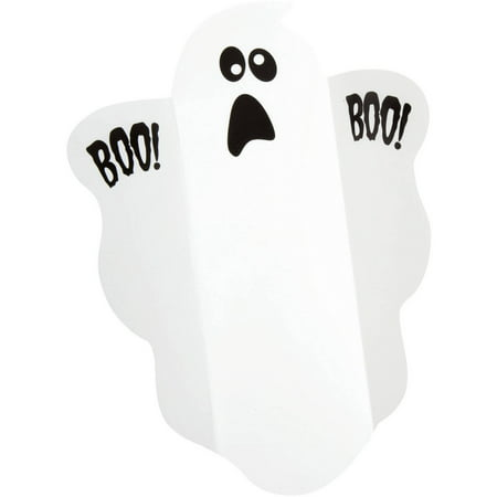 Halloween Themed Candy Buffet ((5 Pack) Ghost Halloween Candy Wrappers,)