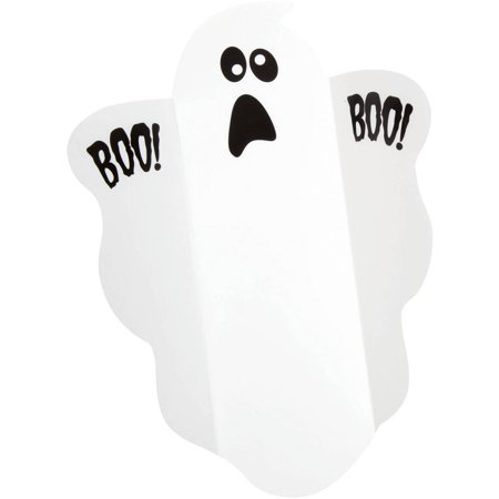 (5 Pack) Ghost Halloween Candy Wrappers, 8-Count - Halloween Candy Store
