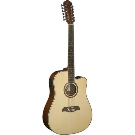 Small Guitar (Oscar Schmidt 12-String Acoustic Electric Guitar.)