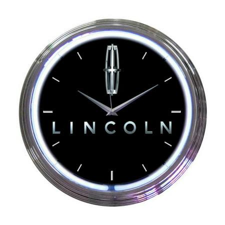 Neonetics Ford lincoln neon clock