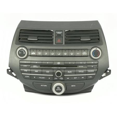 2009 OEM Honda Accord AM FM Receiver 6 Disc CD Player 39101-TA0-A313-M1 3BA0 - (Best Cd Player Receivers)