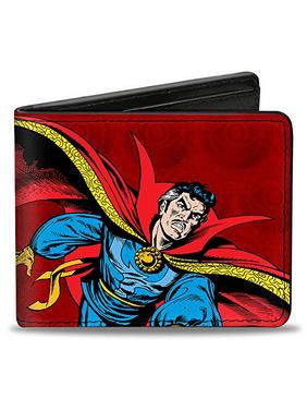 Men'sMarvel Comics wallet Classic Doctor Strange + Text/eye Of, -Multi, One Size