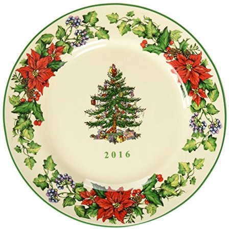 Spode Christmas Tree Dishwasher Safe - spode christmas tree 2016 annual edition collector plate, multicolor