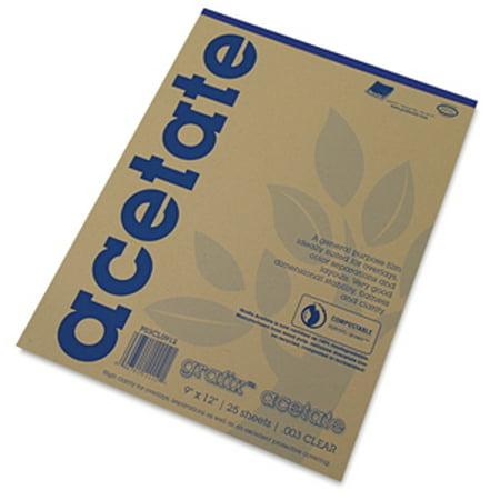 Grafix Clear Acetate - 8-1/2