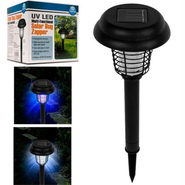 Pure Garden  Solar Bug Zapper LED and UV Light set of 3