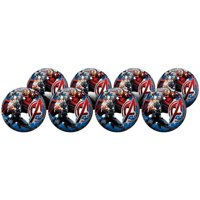 Avengers Playball Party Packs - 8 Count Inflatable Balls