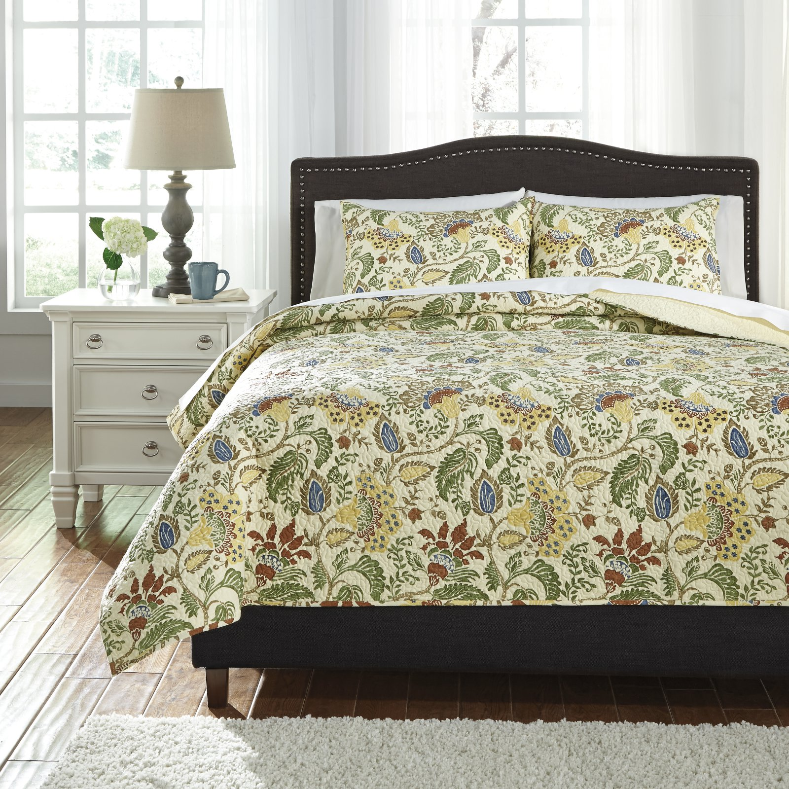 Damyan 3 Piece Coverlet Set by Signature Design by Ashley by Ashley Furniture