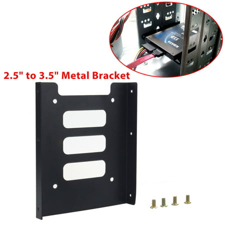"""TSV 2.5"""" to 3.5"""" SSD HDD Hard Disk Drive Holder Metal Mounting Bracket Dock Adapter"""