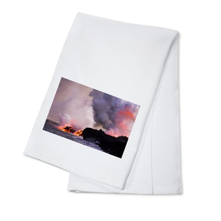 Lava Flow - Lantern Press Photography (100% Cotton Kitchen - Lava Flow Recipe