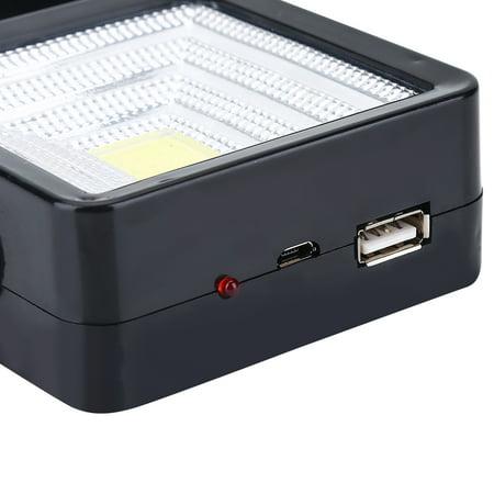 WALFRONT Lumière extérieure rechargeable de secours de tente de lanterne campante actionnée solaire de LED, lanterne campante de secours - image 5 de 10