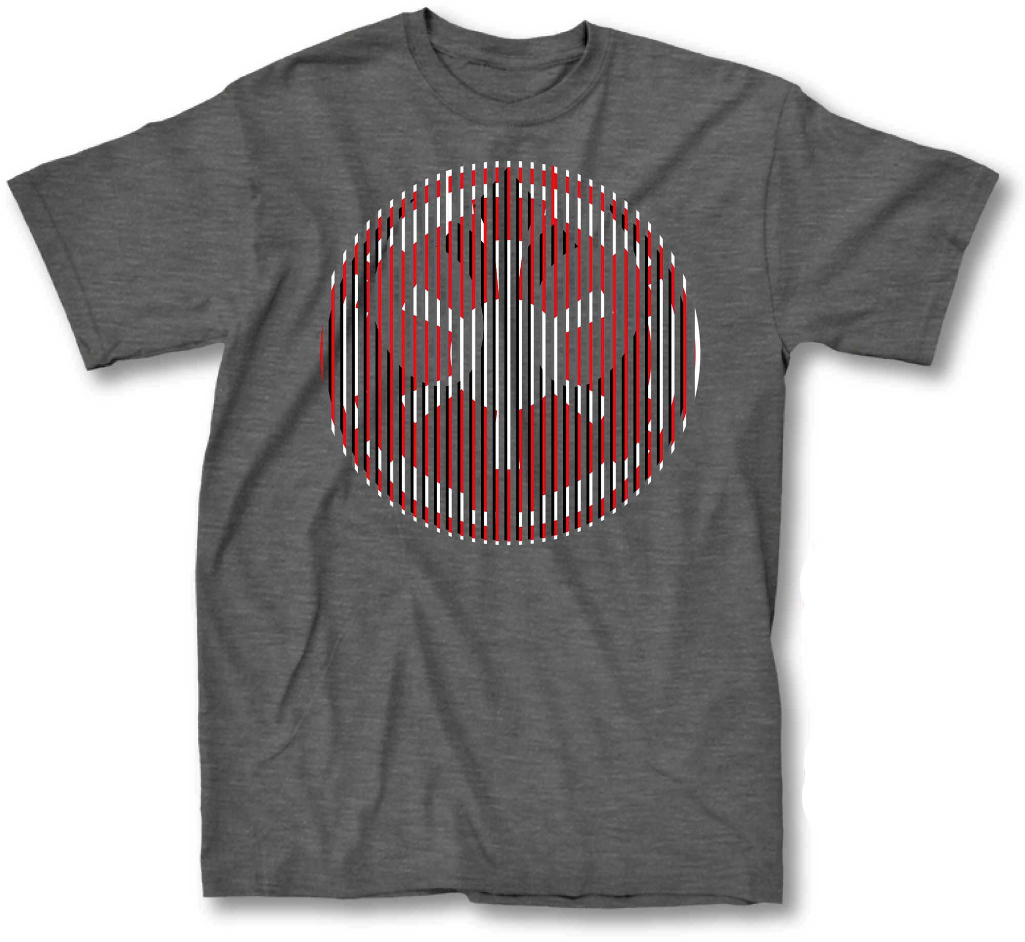 Star Wars Force Illusion Men's Gray T-Shirt