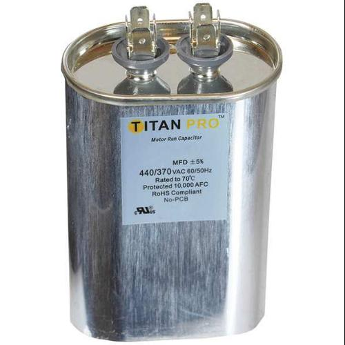 TITAN PRO TOCF30 Motor Run Capacitor, 30 MFD, 3-15/16 In. H