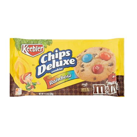keebler chips deluxe rainbow m m s chocolate candies cookies 11 3