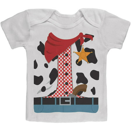 Halloween Cowgirl Costume Baby T Shirt