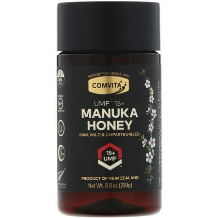 Comvita Certified UMF 15+ Manuka Honey, Raw & Wild, 8.8 oz (Super Honey)