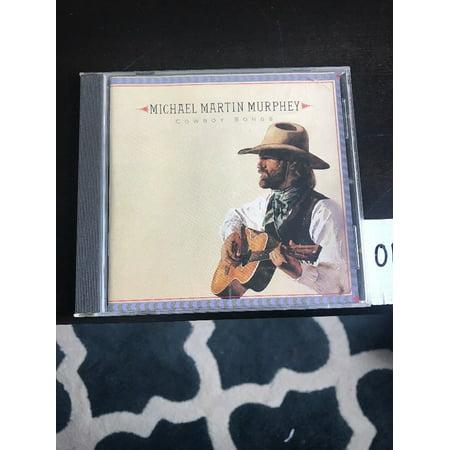 COWBOY SONGS Michael Martin Murphey (CD, 1990, (Michael Martin Murphey The Cowboy Christmas Ball)