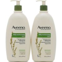 Aveeno Active Naturals Moisturizing Lotion, 2 Pack, 20 oz Bottles