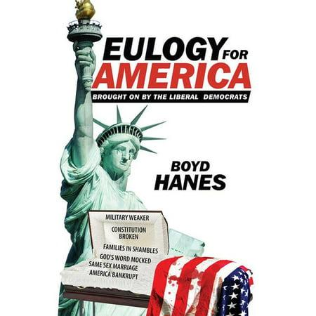 Eulogy for America - eBook (Eulogy For Best Friend Sample)