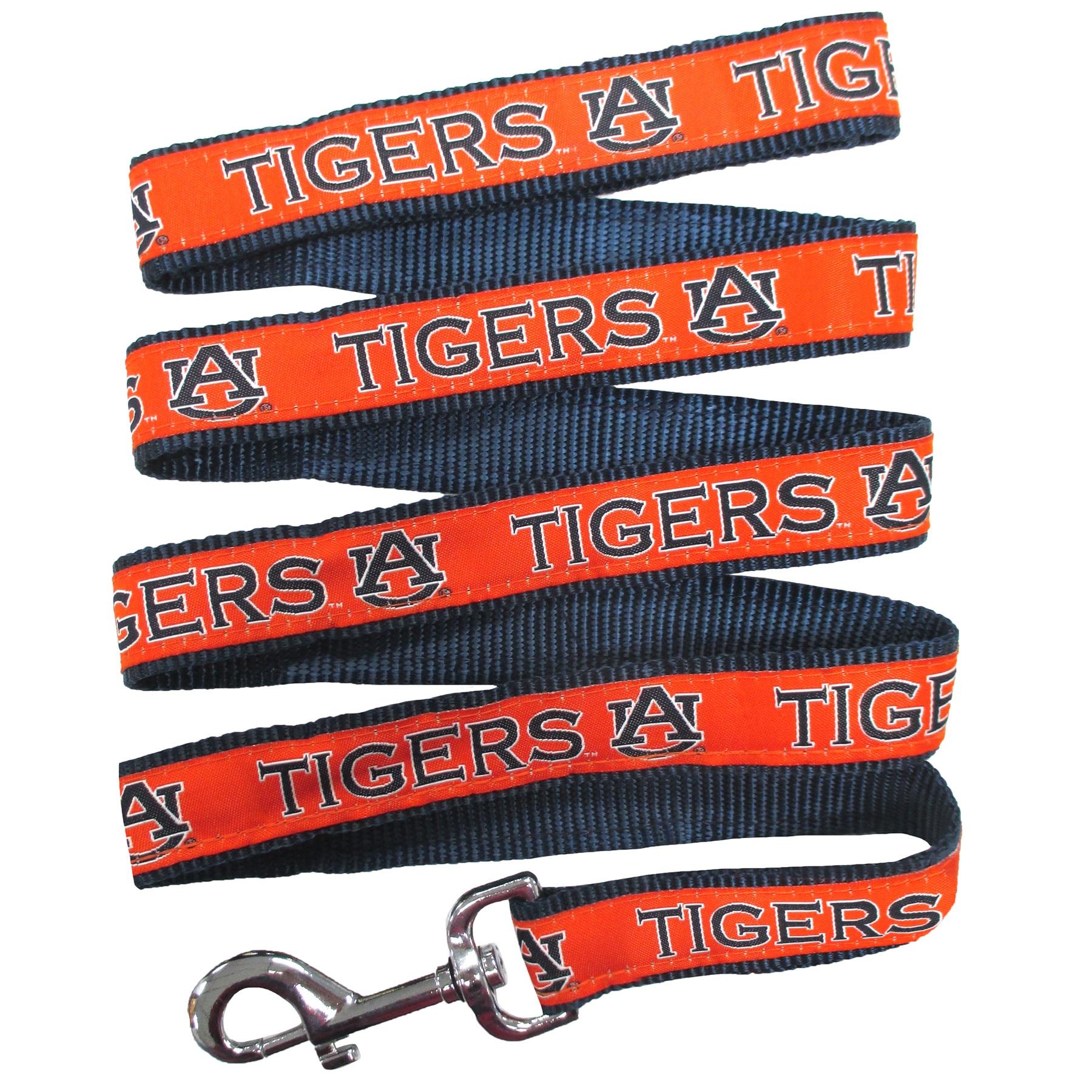 Auburn University Nylon Ribbon Dog Leash