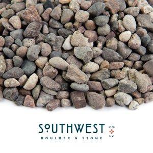 "Landscape Rock & Pebble   Arizona, 3 8"", 20 lbs"