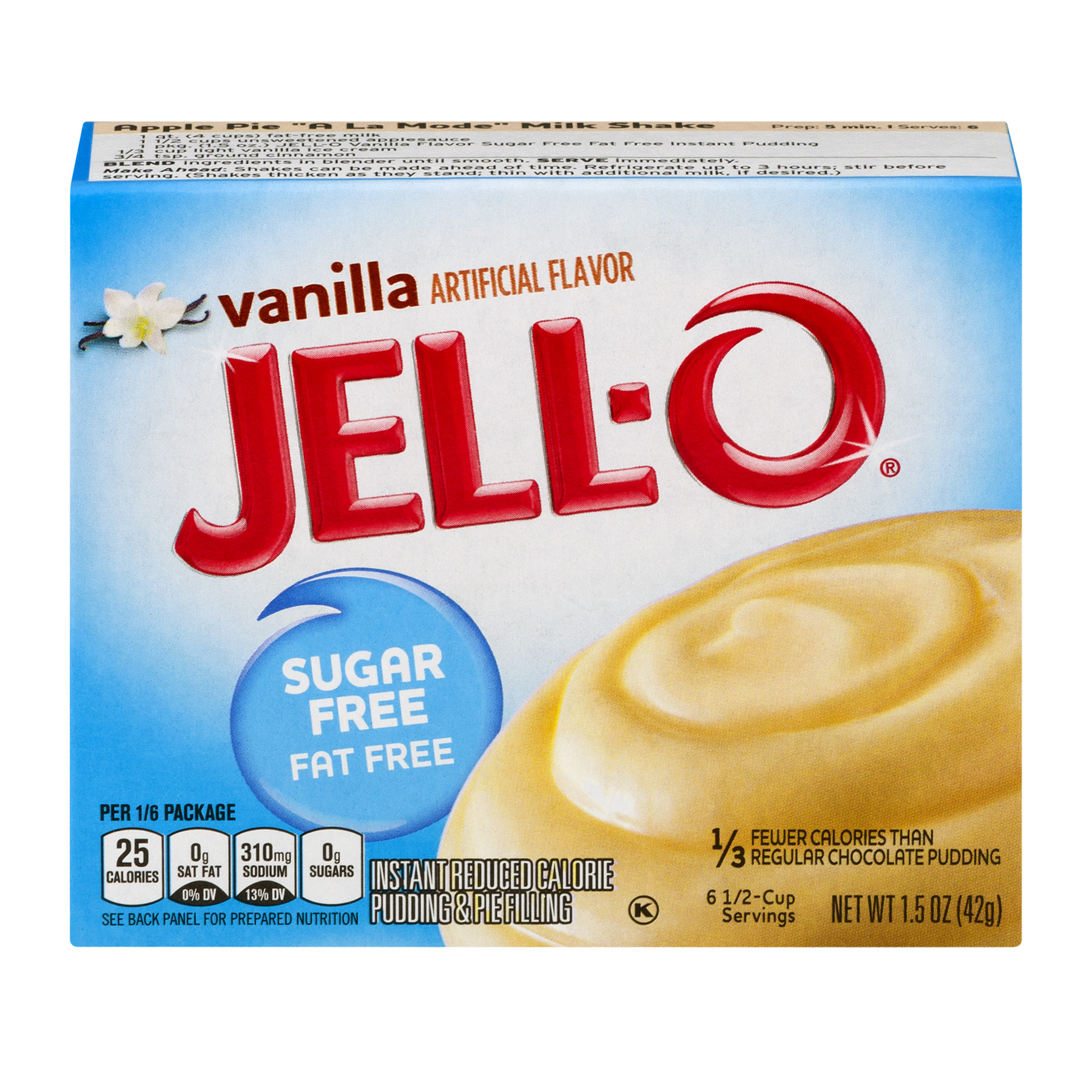 Jell-O Instant Pudding & Pie Filling Vanilla, 1.5 Oz